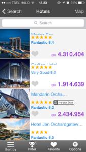 Aplikasi gratis hotel